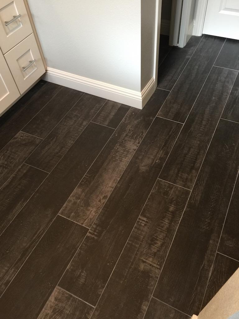 Wood Look Tile  Inspired Remodels