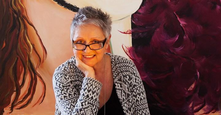 Rosi Oldenburg in her studio :: Inspired Spaces