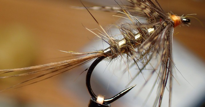 Soft Hackle Wet Fly by Nicole March :: Inspired Spaces