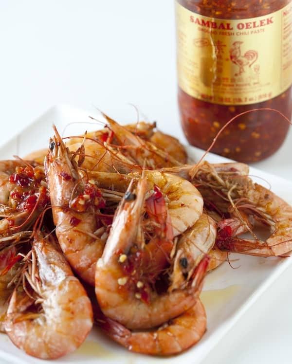 Baked Chili Shrimp