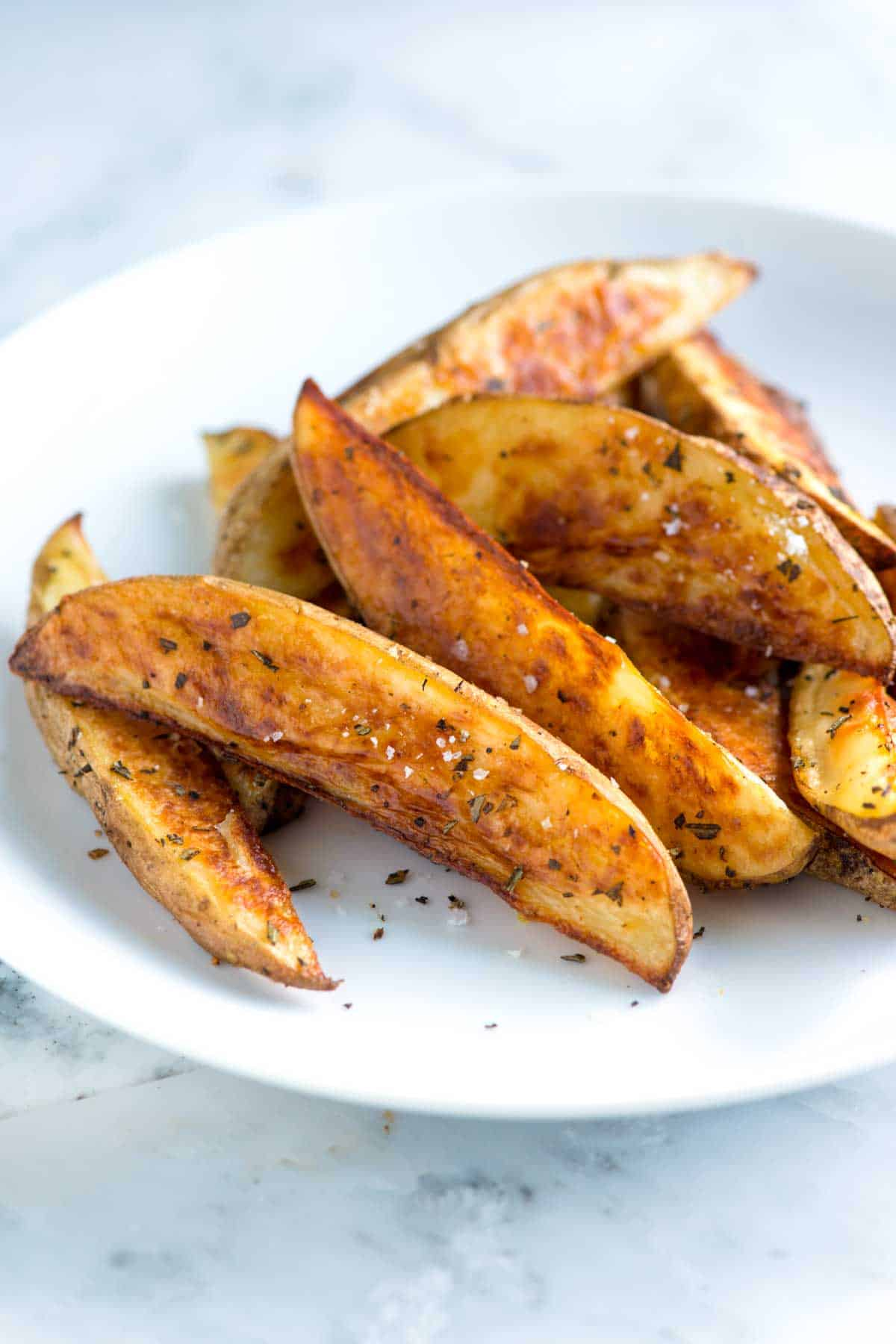 Rosemary Baked Potato Wedges Recipe