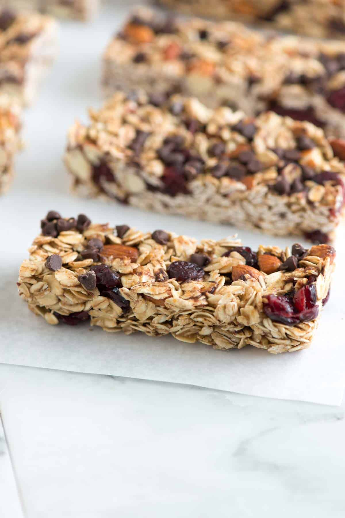 Simple Soft And Chewy Granola Bars Recipe