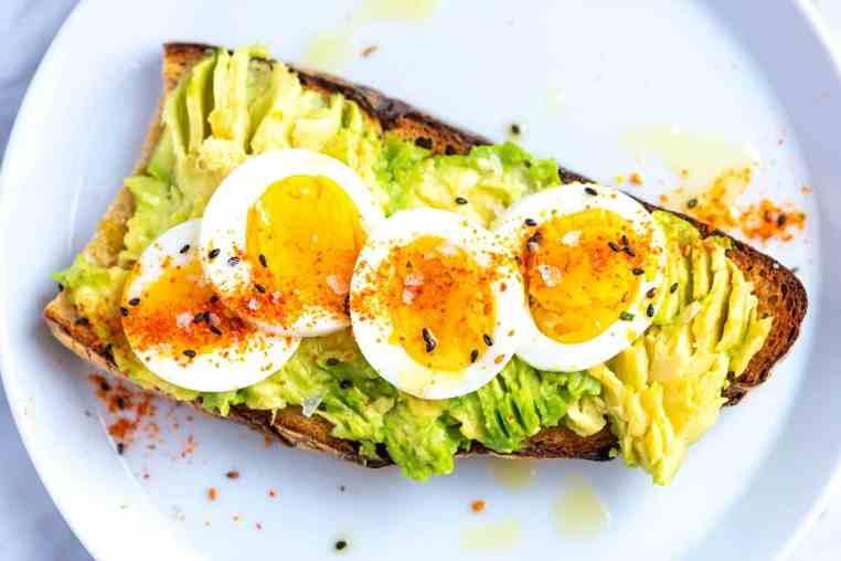 Bilderesultat for avocado egg toast