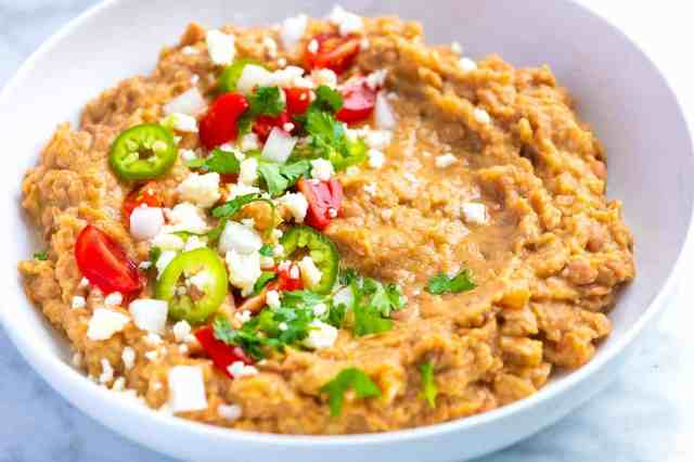 Refried Beans (Better Than Store-Bought)