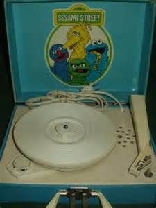 sesame street record player