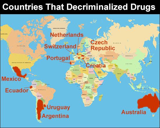 Countries That Decriminalized Drugs