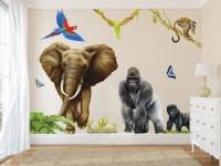 Jungle Wall Decals Wall Murals | Room Sets | Inspiremurals.com