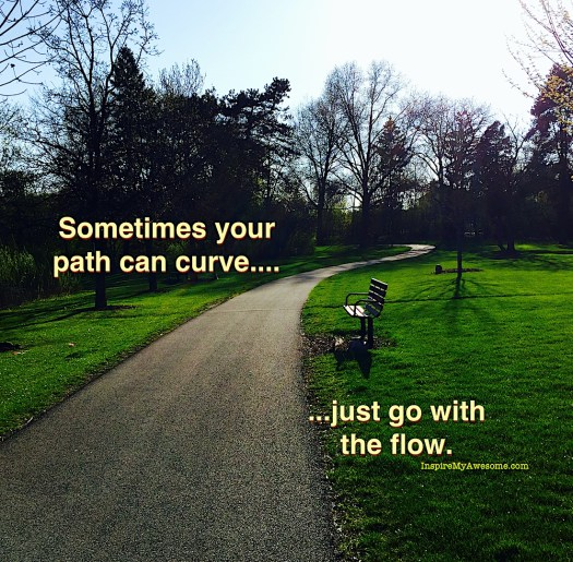 Sometimes Your Path Can Curve