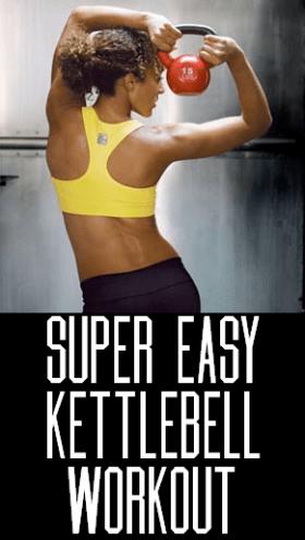 Easy Kettlebell Exercise