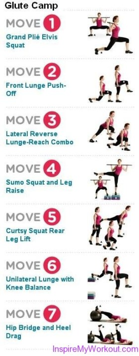Glute Camp Workout