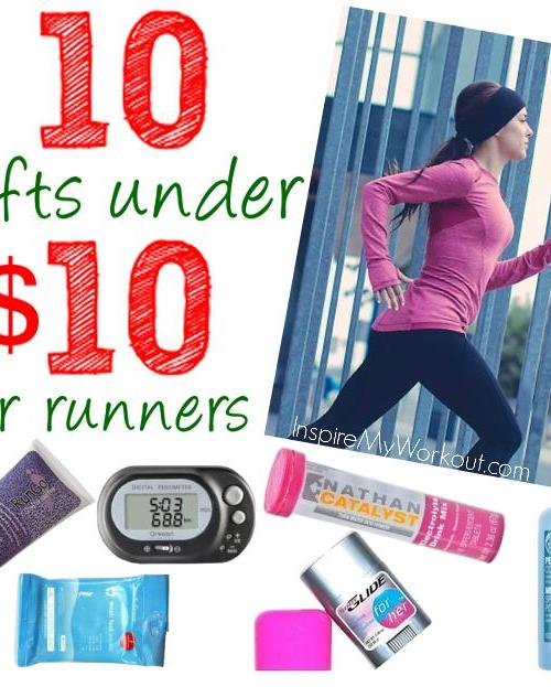 10 Gifts Under $10 for runners