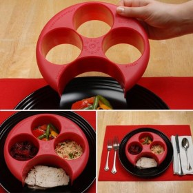 Meal Measure Portion Control Plate