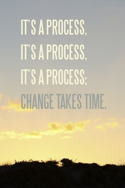 Change takes time (Photo credit: inspiremyworkout.com)