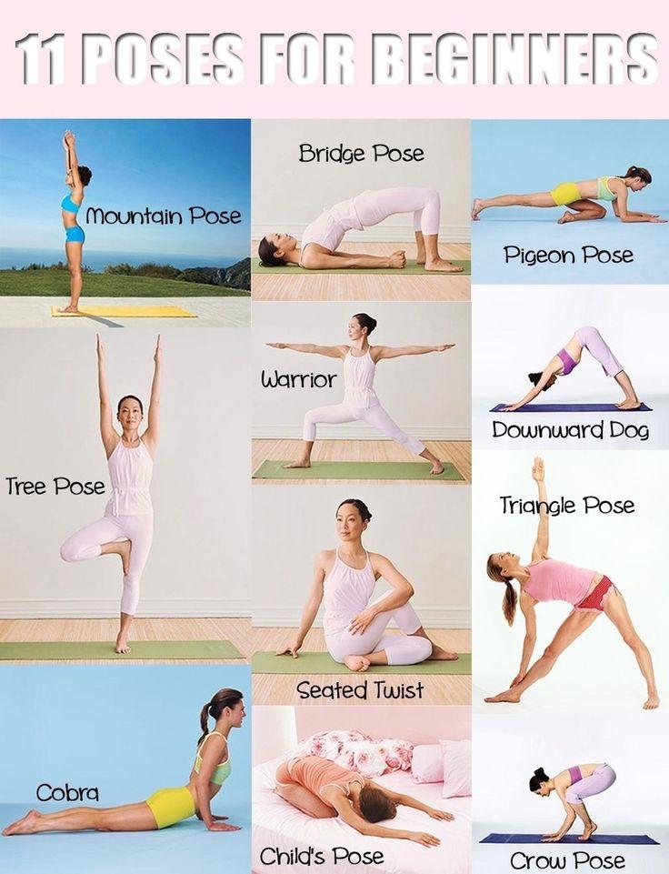 11 posses for beginner yoga