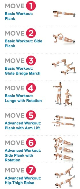 7 Abs Workout Moves