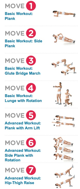 Easy to do Abs workout - InspireMyWorkout.com - A