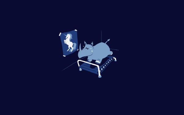 Rhino-Unicorn-Running-Dream