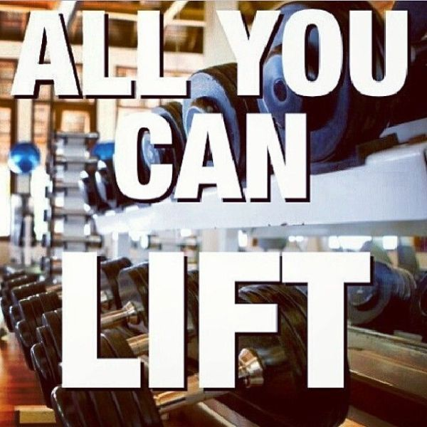 All you can lift