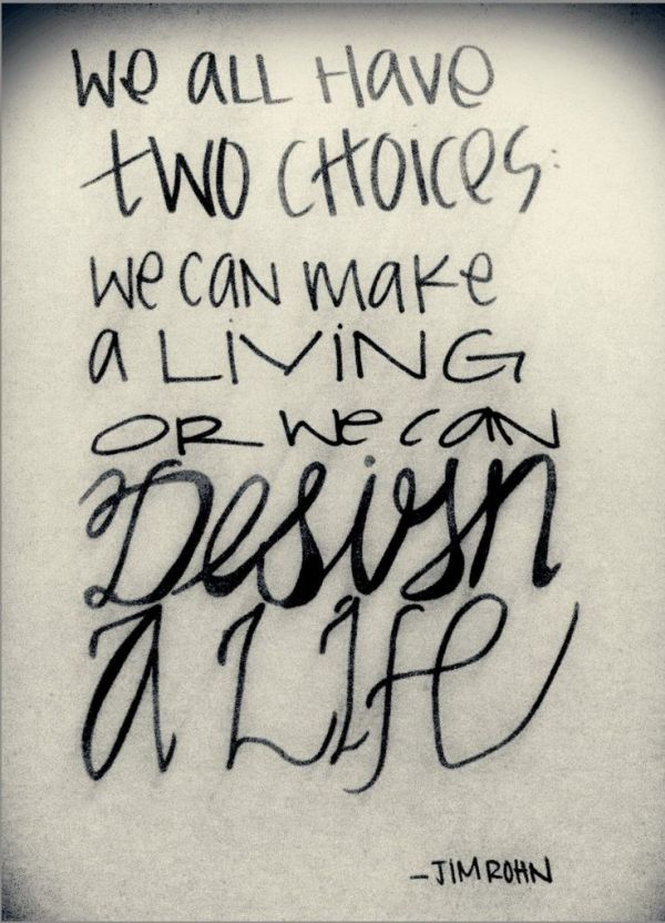We all have two choices