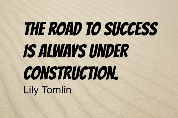 the road to success inspiration