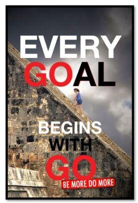 Every goal begins