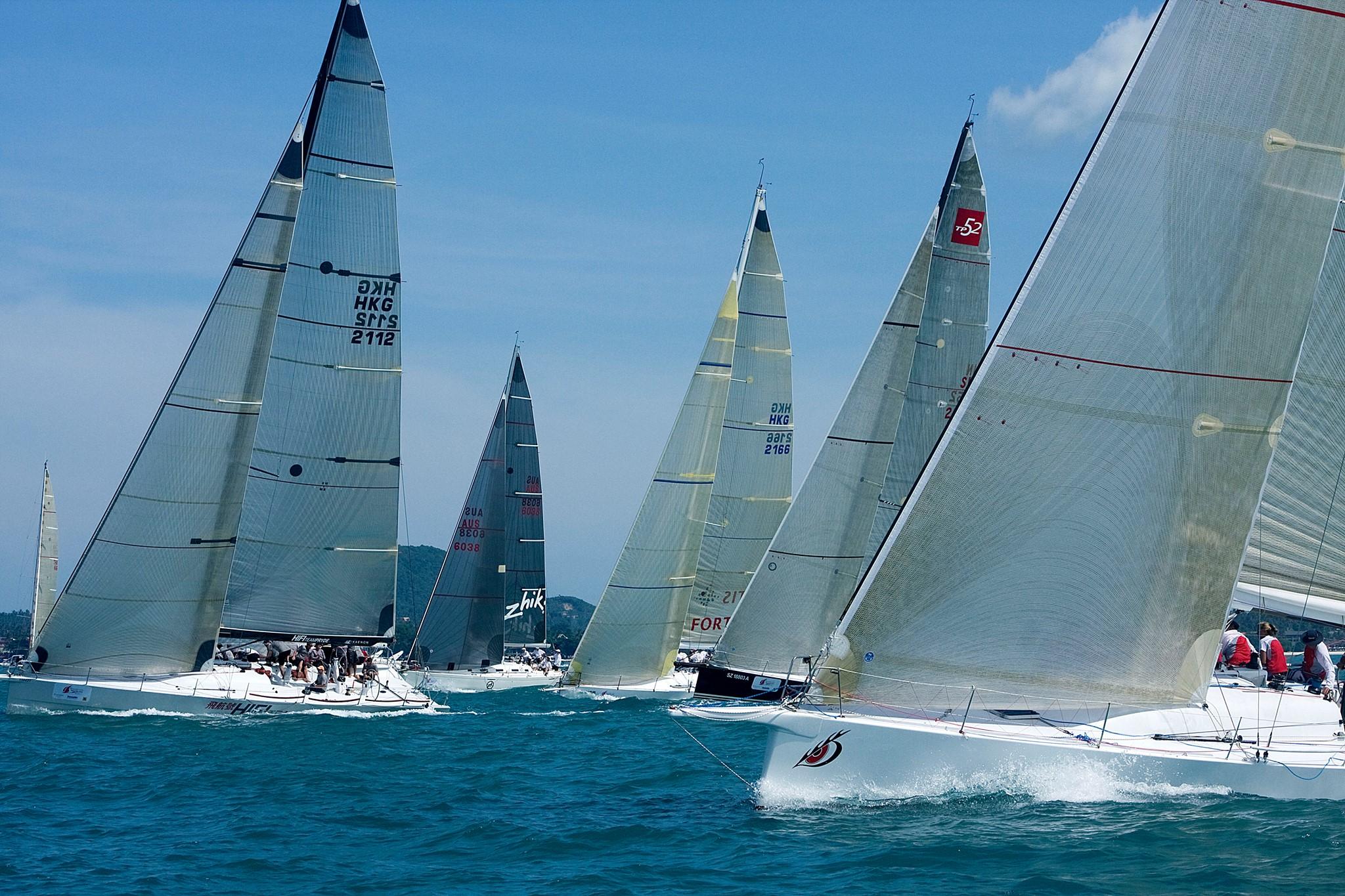 Inspire Pattaya Top Of The Gulf Regatta 2015 At Ocean