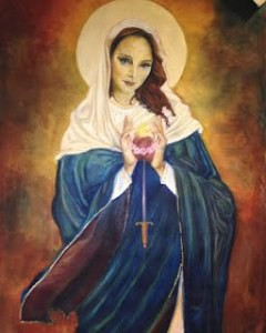 Immaculate Heart of Mary by Gina Switzer