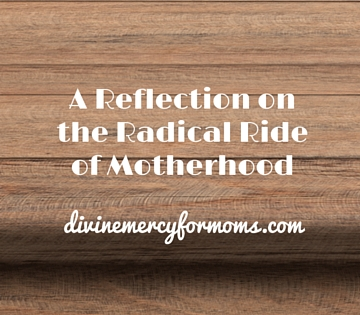 A Reflection on the Radical Ride of Motherhood