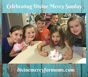 Celebrating Divine Mercy Sunday
