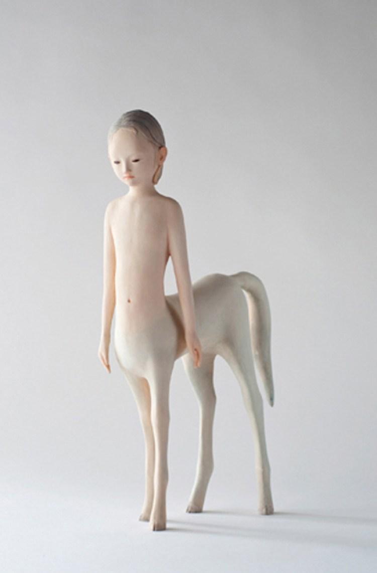 Private Myth la scultura giapponese di Yoshimasa Tsuchiya