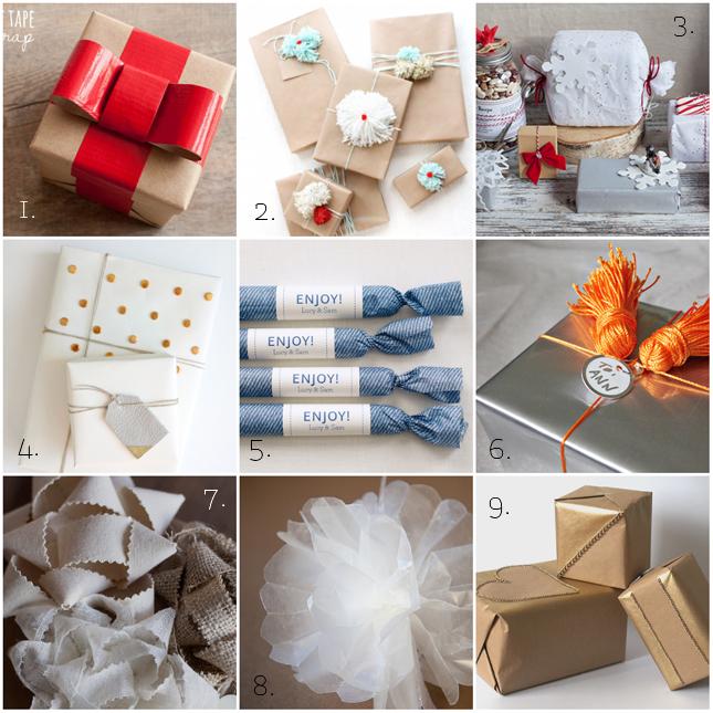 Dicember Craft: Pacchetti di Natale fai da te