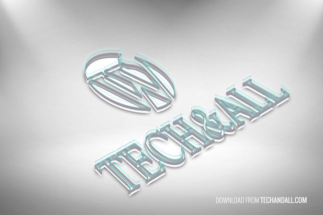 3D outline Logo