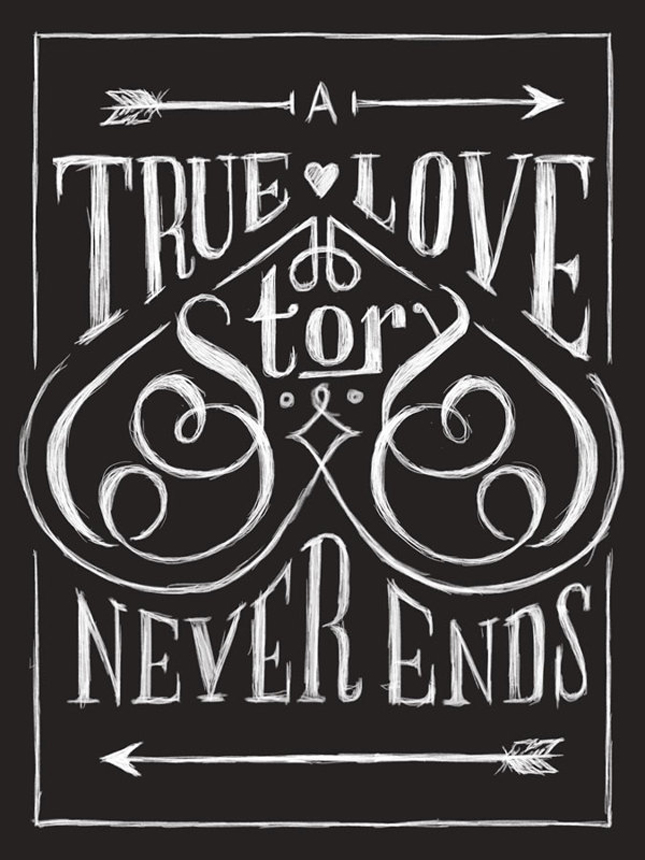 Typographic Quotes: Something To Believe In #30
