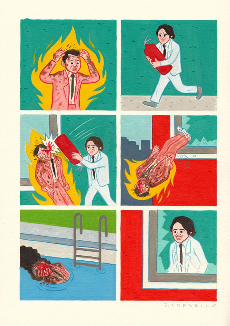 Joan Cornellà. Umorismo più nero della pece