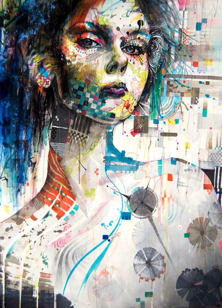 Le illustrazioni complesse di Minjae Lee | Inspire We Trust