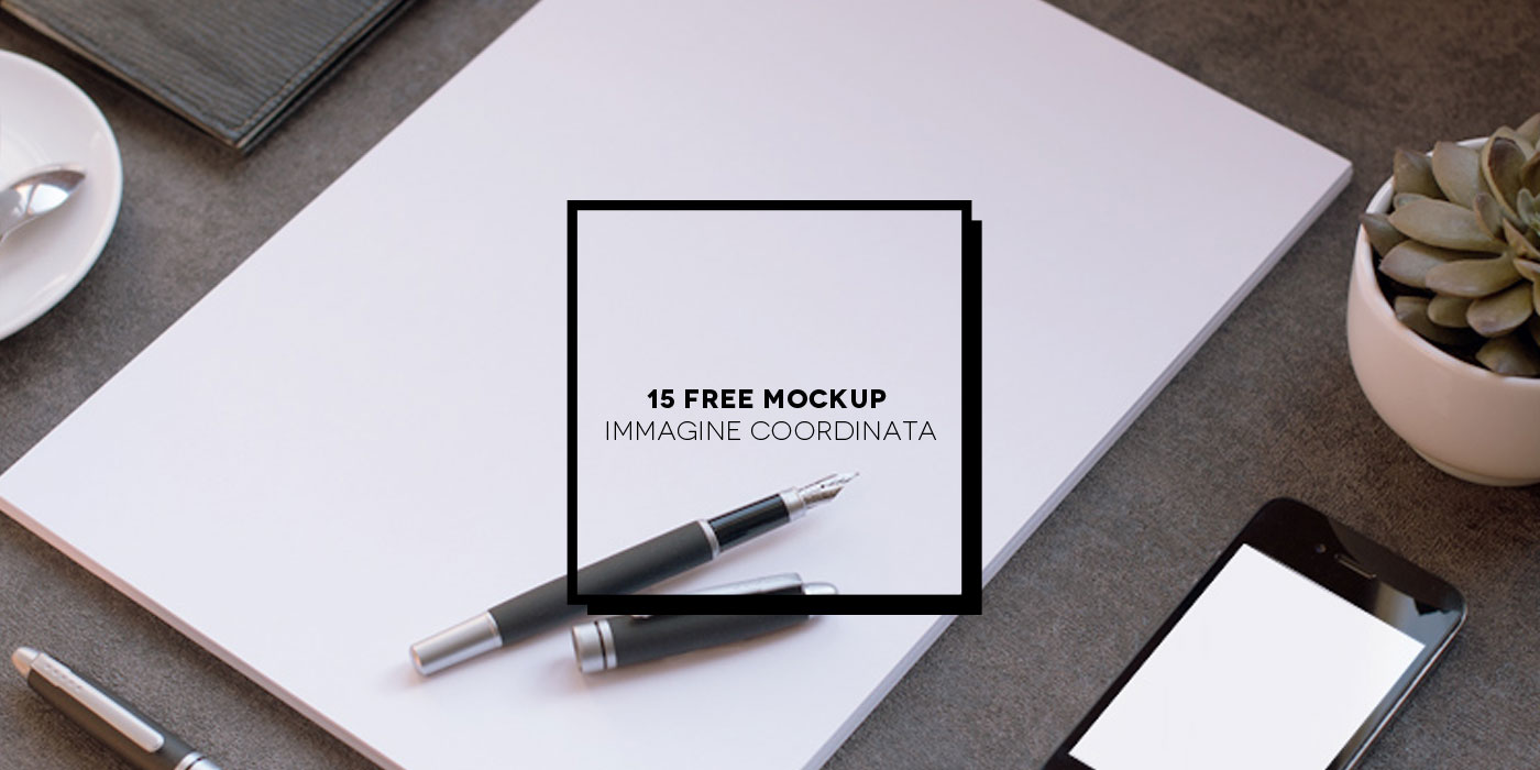 15 Free stationery mockup