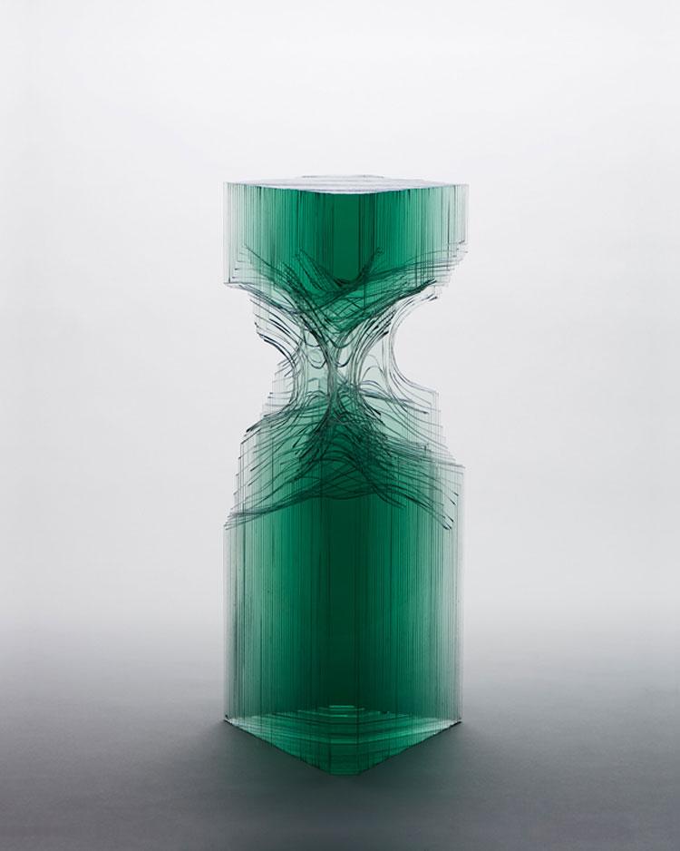 Sculture di vetro di Ben Young