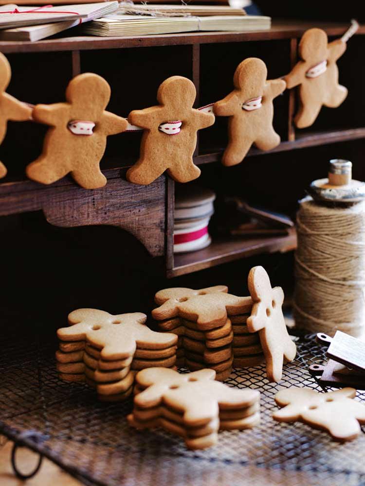 decorare casa per Natale con i biscotti