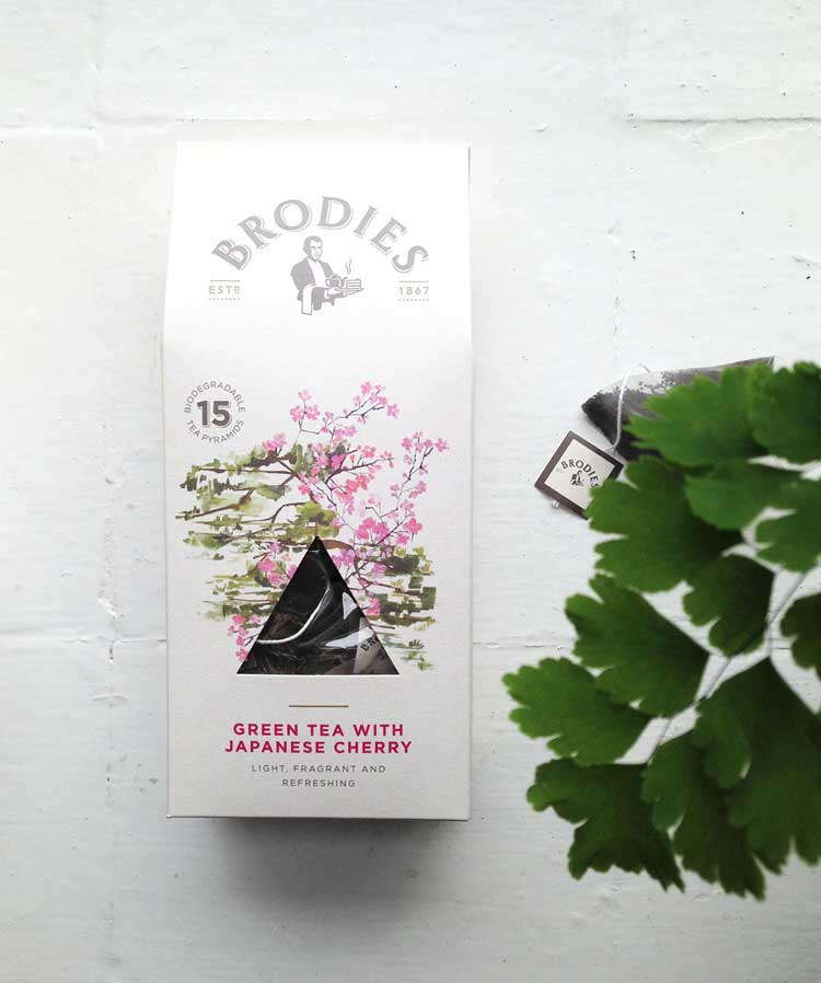 Creative tea packaging