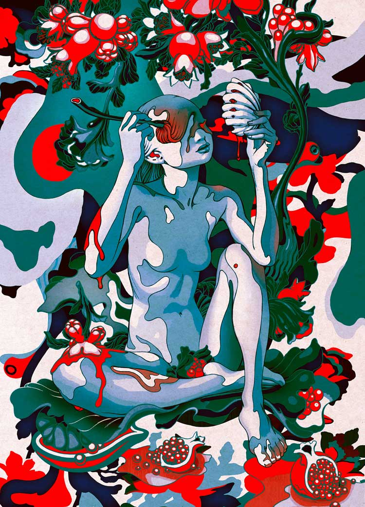 Homage to UKIYOE James Jean