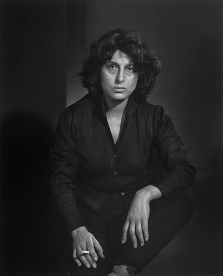 Anna Magnani by Yousuf Karsh