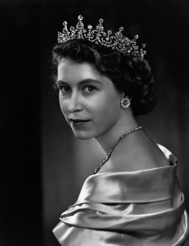 HM Queen Elizabeth II by Yousuf Karsh