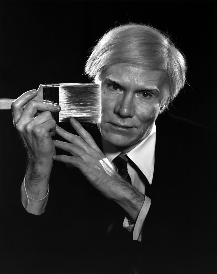 Andy Warhol by Yousuf Karsh