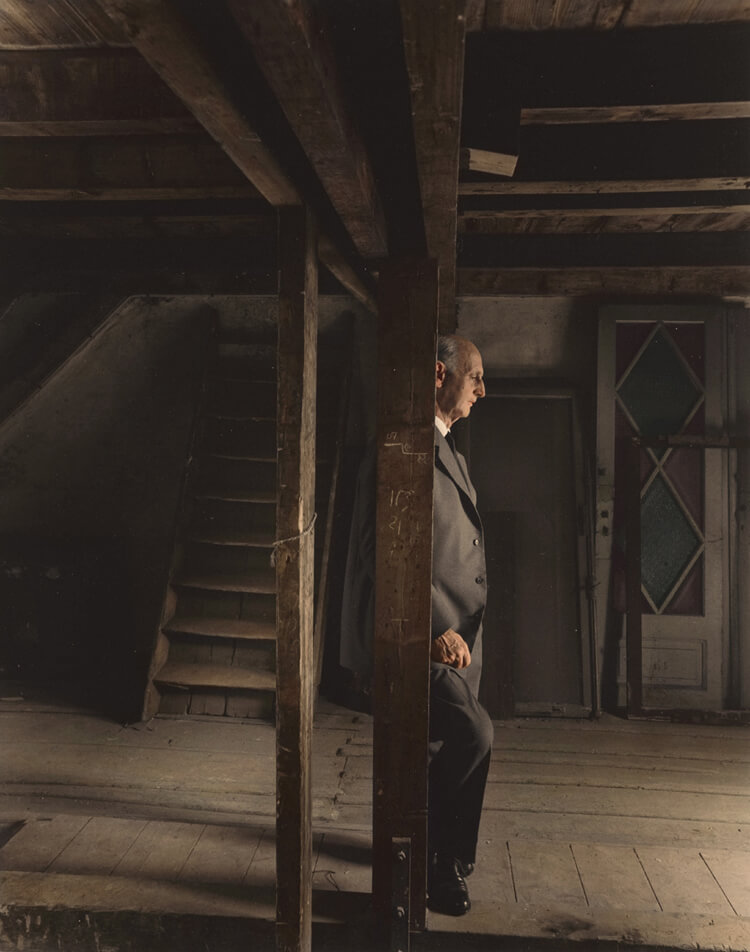 Colorized History - Otto Frank