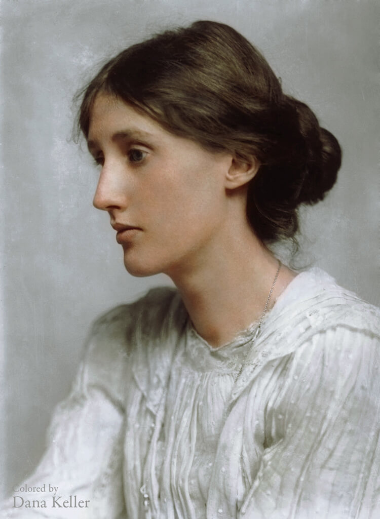 Colorized History - Virginia Woolf