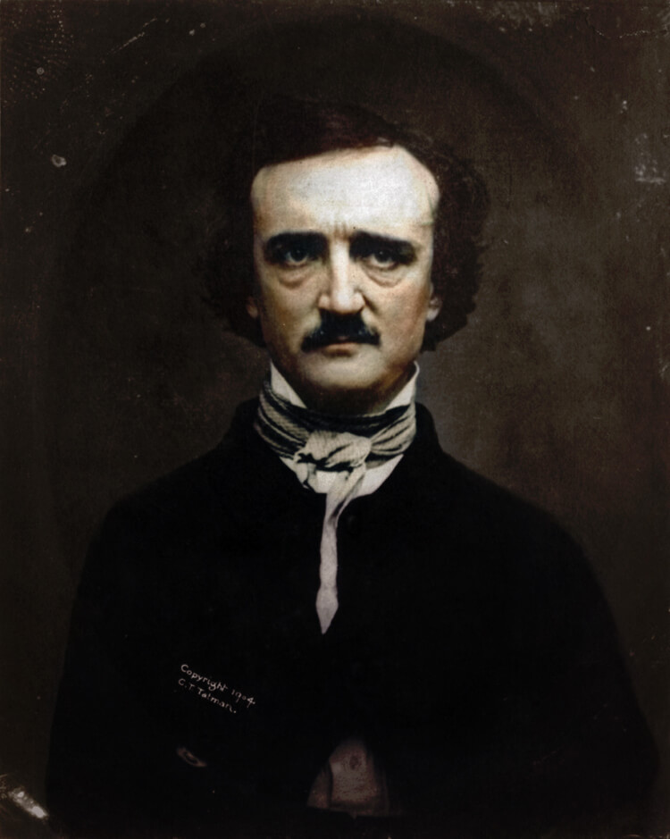 Colorized History - Edgar Allan Poe