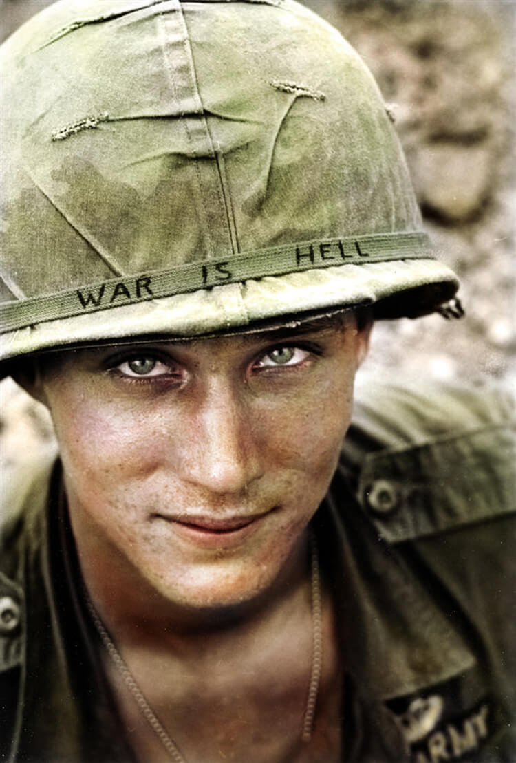Colorized History - War is Hell