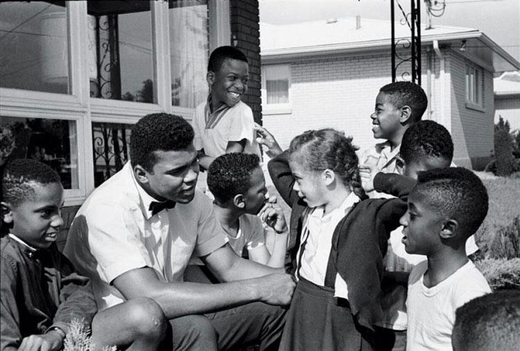 Muhammad Ali e Yolanda Williams