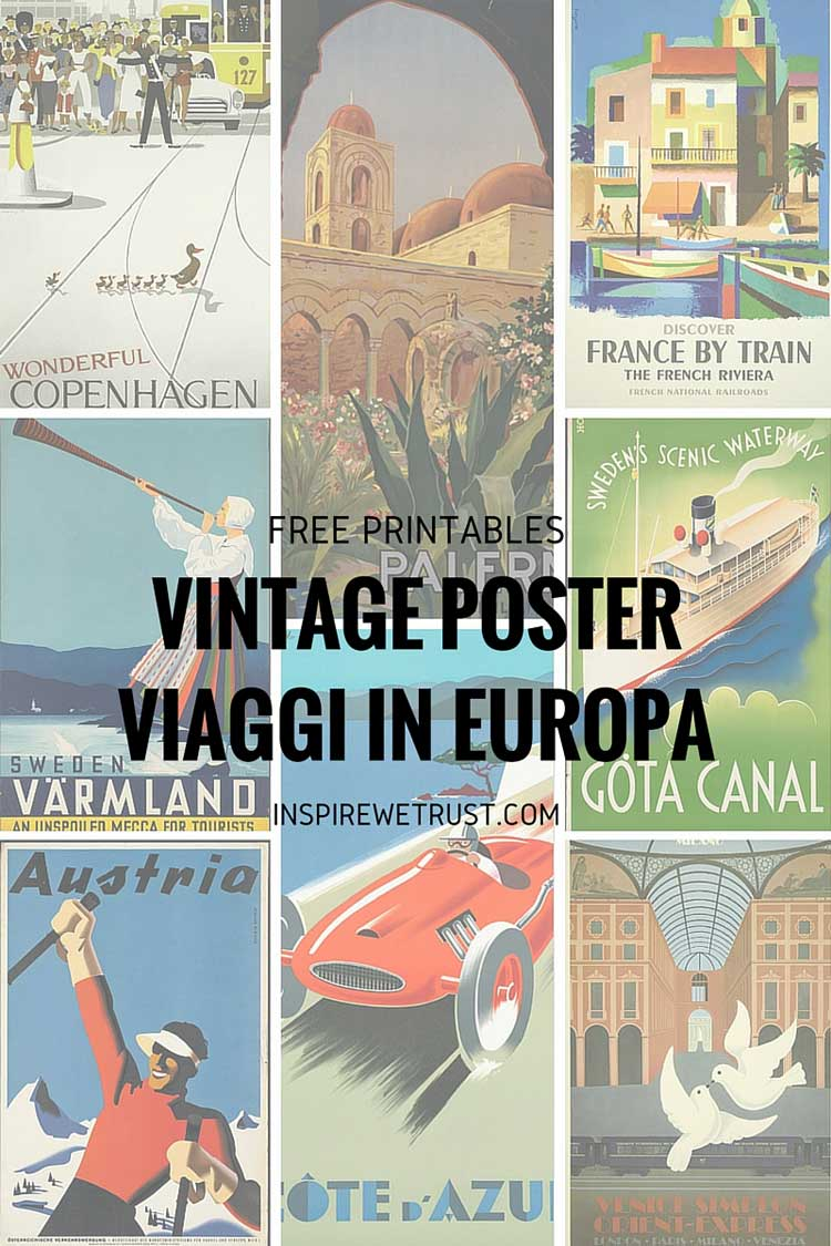 graphic about Free Printable Vintage Posters identified as Classic printable: no cost artwork for your dwelling Persuade We Have confidence in