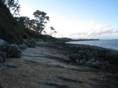 27 - Walking along the racks south of Blenheim Beach
